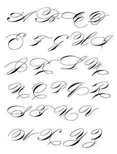 Exemplars - madarsz script - copperplate/spencerian hybrid Calligraphy Fonts Alphabet, Tattoo Lettering Fonts, Hand Lettering Alphabet, Graffiti Lettering, Penmanship, Caligrafia Copperplate, Copperplate Calligraphy, Caligraphy, Letras Tattoo