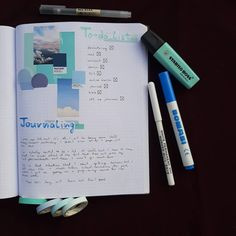 I use a lot more blue in my spreads nowadays. What does your fav color mean to you? Pantone, Spreads, Bullet Journal, Let It Be, The Originals, Blue, Color, Colour, Sandwich Spread
