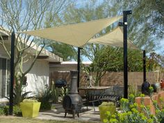 Shade Canopies, Sails & Awnings Designed For Arizona 480-200-5977