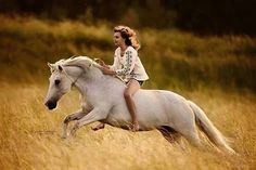 I'm in awe at the beauty of this. #equestrian #free #gallop #girl #horse #ride #riding