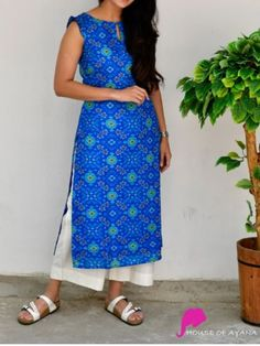 """Check out these amazing styles of Kurti which are just more than perfect for a working woman.  For daily work wear Kurtis are perfect they are appropriate and stylish looking so this type Kurtis are preferable for daily wears. You can easily pair it with palazzo, jeans or leggings you are ready to conquer your mission.  """"A kurta is its own kind of beautiful"""" #latestkurtis #newarrivalkurtis #designerkurtis #workwearkurtis #casualwearkurtis #officewearkurtis #formalwearkurtis #fancykurtis Silk Kurti Designs, Kurti Designs Party Wear, Salwar Designs, Stylish Dresses, Fashion Dresses, Kurti Styles, Indian Gowns Dresses, Fancy Tops, Designs For Dresses"""