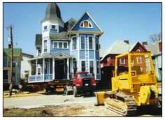 Mine's next! Building Movers, House Movers, Moving House, Philippines, Buildings, Cabin, America, Mansions, House Styles