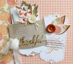 Danielle has a great technique for you this week! Create die cuts that look as if theyve been...