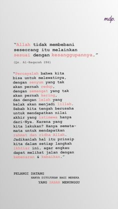 ideas for quotes indonesia menunggu Quotes Rindu, Quran Quotes, Happy Quotes, Words Quotes, Best Quotes, Life Quotes, Allah Quotes, Islamic Quotes, Islamic Inspirational Quotes