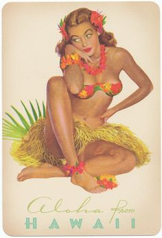 What is your pin-up pleasure?  Vintage or modern?  bigislandreale.com mixes it up with their Pins... you?
