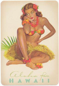 aloha...hula girl