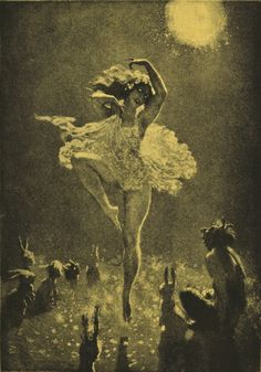 darebinroad:    'The Audience' by Norman Lindsay.  Norman Lindsay Etchings, ISBN 0207147167