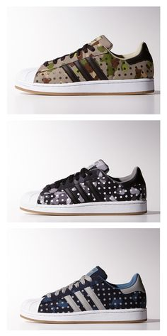"adidas Originals Superstar II ""Camo Dot"" Pack"