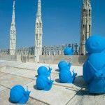 ¿Caracoles en el Duomo di Milano? Así como lo oyes…