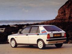 "Lancia Delta HF Turbo ""Martini"" UK-spec (831) '1987–91"