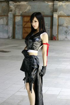 Final Fantasy VII: Advent Children, Tifa cosplay.