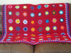 Check out this item in my Etsy shop https://www.etsy.com/uk/listing/214110332/granny-squares-blanket-crochet-peonies