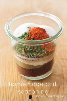 Homemade Chili Seasoning | bakeyourday.net