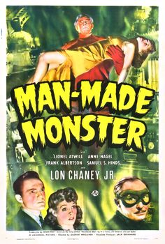 Man Made Monster (aka The Atomic Monster) (1941, USA)