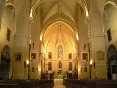 Altar Mayor (Trigueros, Huelva) - Altar Mayor de la Parroquia de San Antonio Abad en Trigueros (Huelva). Maravilloso templo gótico de visita obligada en la provincia de Huelva