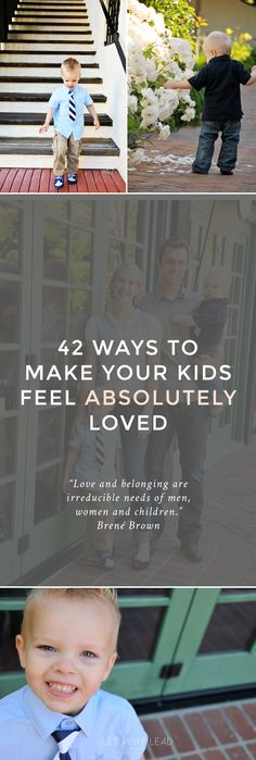 We can't control what they experience outside our homes, but *inside* is another story. | 42 Ways to Make Your Kids Feel ABSOLUTELY Loved