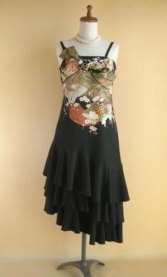 Kimono re-make dress