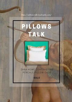 Simplistic elegant designs set a special aura at home. These golden contrasting pillow cases designed by Zara Home embraces regality with a touch of extravaganza. The pillows are made of percale cotton with a 200 thread count, which provides sleepers with utmost tenderness.