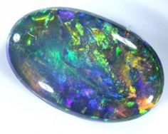 QUALITY BLACK SOLIDOPAL LIGHTNINGRIDGE  1.30  CTS  JJ    SEP-5 AUSTRALIAN OPAL