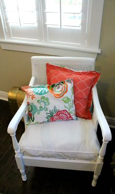 DIY No Sew Pillow Cover Tutorial by Fresh Idea Studio