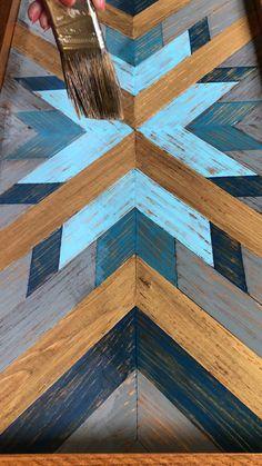 Reclaimed Wood Wall Art, Rustic Wood Walls, Wooden Wall Decor, Wooden Wall Art, Diy Wall Art, Wood Plank Art, Wall Wood, Rustic Art, Rustic Style