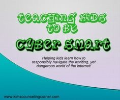 Teaching Kids About Cyber Safety Teaching Technology, Technology Integration, Family Therapy, Kids Therapy, Therapy Ideas, Cyber Safety For Kids, Teaching Kids, Kids Learning, Digital Citizenship