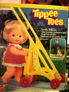 Childhood Memories.... I had this Tippee Toes Doll and Stroller! Brings back wonderful memories.