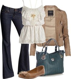 Stylish casual winter outfit fashion... click on picture to ...