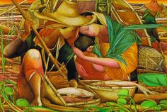 Fisherman's family by Tam Austria Philippine Art, Artists Like, Portrait, Filipino, Pretty Pictures, Les Oeuvres, Austria, Art Gallery, Old Things