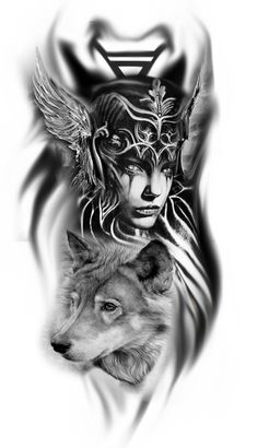 I just love the valkyrie here …. next ta … – # here # I # love # … – Norse Mythology-Vikings-Tattoo Wolf Tattoos, Warrior Tattoos, Body Art Tattoos, Tattoo Drawings, Sleeve Tattoos, Maori Tattoos, Athena Tattoo, Tattoo Minimaliste, Norse Tattoo
