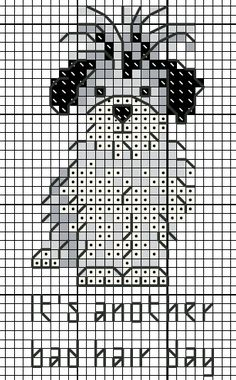 Good Free Cross Stitch dog Tips Cross-stitch is an easy sort of needlework, suitable to the fabrics offered to stitchers today. Free Cross Stitch Charts, Cross Stitch Freebies, Cross Stitch Bookmarks, Mini Cross Stitch, Cross Stitch Heart, Cross Stitch Cards, Simple Cross Stitch, Cross Stitch Animals, Cross Stitch Kits