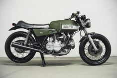 1976 Custom Ducati 860 GTS, styled by Giorgetto Giugiaro.  Find Florida's Coolest Bikes at Burgundee Bikes