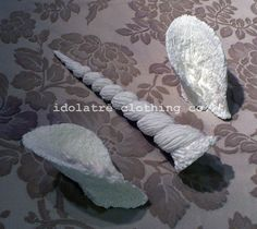 Unicorn Horn and Ears by idolatre on Etsy