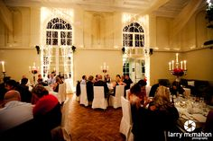 the orangerie at kilshane house during a wedding