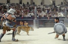 Gladiator - Maximus vs Tigris of Gaul tiger fight