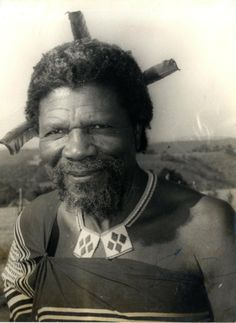 King Sobhuza of Swaziland being the longest precisely dated monarchical reign on record. African Tribes, African Diaspora, African Culture, African History, Tribal Warrior, African Royalty, We The Kings, Warrior King, Art Africain