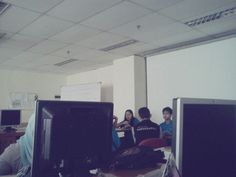 Talking about project