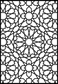Alhambra Stained Glass Coloring Book...I have one of these books, and its great.