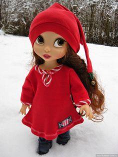 Выкройка платья для куклы Дисней Аниматор. Материал трикотаж.