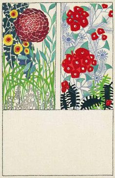 Likarz was a prolific commercial designer whose patterns were used on textiles and wall paper. From 1912 to 1914 and 1920 to 1931 she worked with the Wiener Werkstätte where she produced fashion and floral postcards. Most of her designs were based on highly stylized floral patterns that grew ever more geometric. In 1928 she moved to Rome where she concentrated on ceramic design.