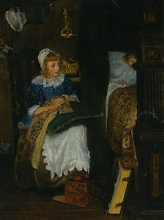 """Lady Laura Teresa Alma-Tadema, """"In Good Hands"""""""