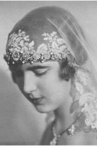 Ingrid Victoria Sofia Louise Margareta, Priness of Sweden (later Queen of Denmark) on her coming of age, in court dress.