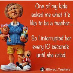 Teacher fantasy