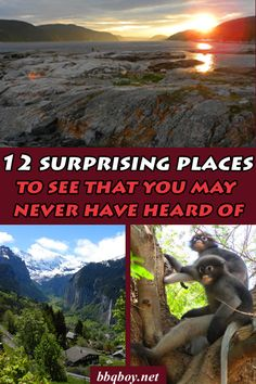 12 surprising places to see that you may never have heard of. The places you'll see featured in this post are places that don't make it in most guidebooks...#bbqboy #travel