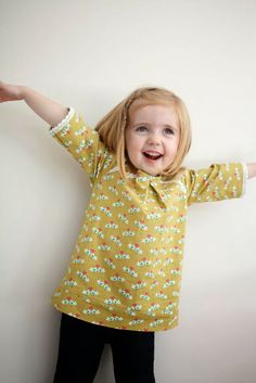 yo elijo coser: Tutorial blusa niña para principiantes