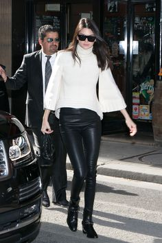 Kendall Jenner in Paris on March 6, 2015.   - Cosmopolitan.com