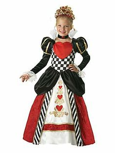 Child Elite Queen of Hearts Costume    a little tweaking to make it more my taste ... i could make this!!!