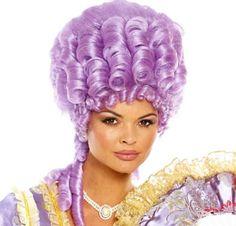 Purple Marie Antoinette Wig - Party City