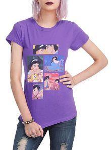 Hot Topic Women's Aladdin Collage T-Shirt