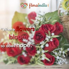 Send a lovely message with a bouquet of flowers today. Order from www.floraindia.com  #floraindia #Wednesday #humpday #midweek #midweekinspo #hope #rose #tulip #orchid #gerbera #peony